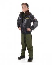 Fighter Pilot Jacket For Children
