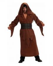 Braune Kapuzen Robe