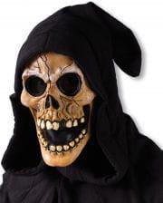 Hooded Skull Mask Beige
