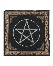 Keltisches Pentacle Altar-Tuch 65x65cm
