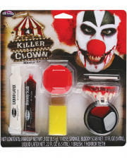 Horror Clown Make-up Kit 9-tlg.