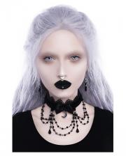 KILLSTAR Lilia Lace Collar