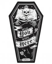 KILLSTAR One Wish Coffin Bath Towel