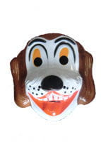 Children mask dog Bello