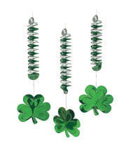 Cloverleaf Spiral Hanging Decoration