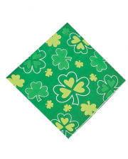 Cloverleaf napkins