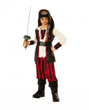 Little Pirate Captain Costume For Children