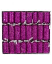 Glitter Effect Pink 8 Pc.
