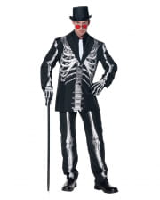 Skeleton costume suit