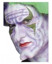 Crazy Joker Clown Foam Latex Application 3-part