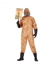 Contaminated Zombie Overall For Adults