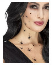 Crawling Spiders Sticker Tattoos