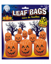 Pumpkin Foliage Bags 10 Pieces