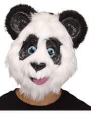 Panda Mask In Comic Style