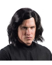 Kylo Ren wig and scar