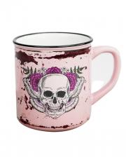 Lady Skull Totenkopf Tasse