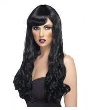 Cosplay woman wig black