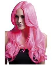 Women Wig Khloe neon pink