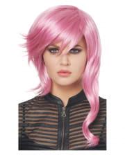 Lightning Cosplay Wig Pink