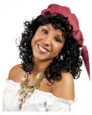 Curly Wig Esmeralda black
