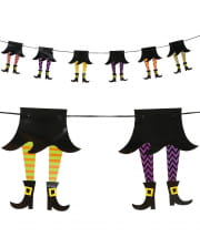 Funny Witches Garland 210cm