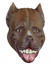 Funny Pitbull Latex Mask