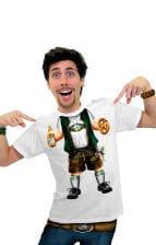 Bayerisches Lederhosen T-Shirt