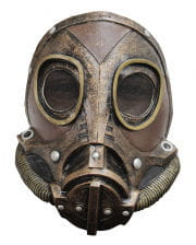 Steampunk Latex Gasmaske