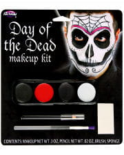 Make-up Kit Day of the dead Herren