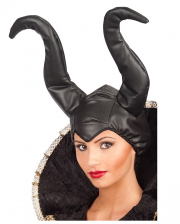 Malefica Mütze mit Hörner