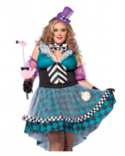 Manic Mad Hatter Plus Size Ladies Costume