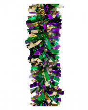 Mardis Grass Glitter Garland 4,5 Meter