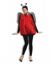 Ladybird Costume With Wings & Feeler
