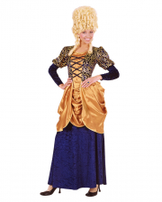Marquise Costume Blue/gold XL
