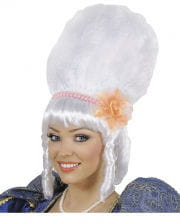 Marquise Wig With Pearls