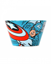 Captain America Retro Cereal Bowl