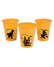 Maxi Drinking Cup Halloween Motif 25 Pc.