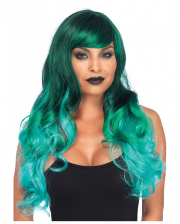 Mermaids Wig Wavy Green