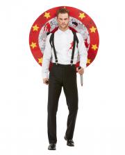 Messerwerfer Zirkus Deluxe Kostüm für Herren