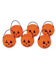 Mini Pumpkin Kettle Pack Of 6