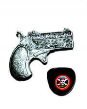 Mini Pirate gun and eye patch