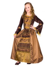 Mittelalter Baroness Kinderkostüm