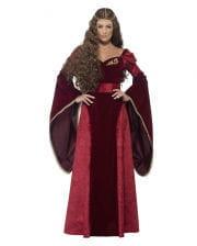 Mittelalter Königin Kostüm Deluxe Plus Size