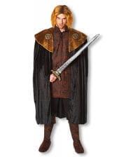 Medieval cloak with fur