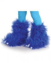 Monster Fell Stiefelstulpen Blau
