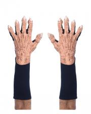 Monster Handschuhe Flesh Hautfarben