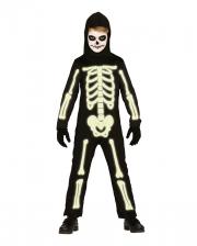 Mr. Glowy Jumpsuit für Kinder Nachleuchtend