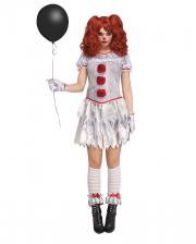 Evil Mrs Clown Costume For Adults