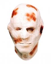 Mummy mask made of foam latex