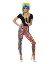 Neon Leoparden Leggings